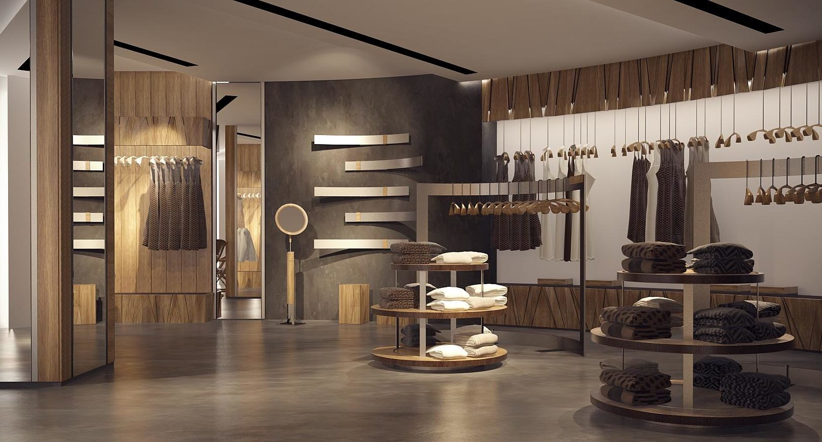 Дизайн интерьера салона